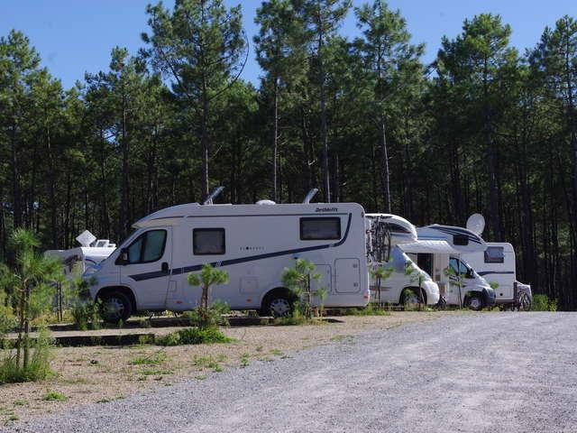 Aire de camping-cars de Saint-Girons Plage