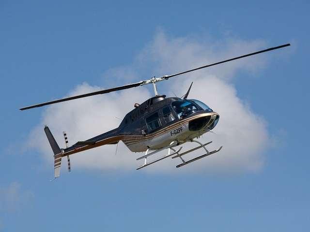VOL EN HELICOPTERE AVEC AIR TOURAINE