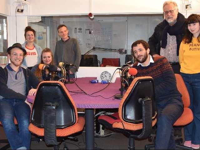 Emission de radio en direct du Krill avec RTR