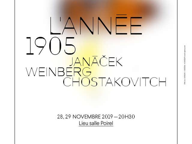 CONCERT L'ANNEE 1905