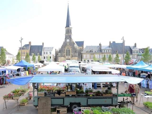 Marché de Montoire-sur-le Loir