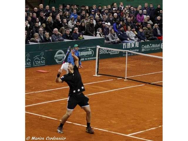 12ème Internationaux Masculins de Bagnoles de l'Orne (points ATP).