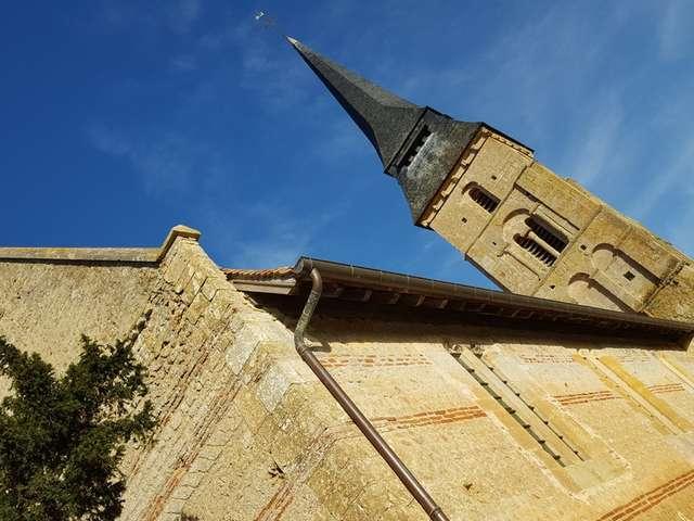 Église Saint Aubin - Vieux-Pont-en-Auge