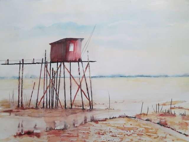 Démonstration et atelier d'aquarelle