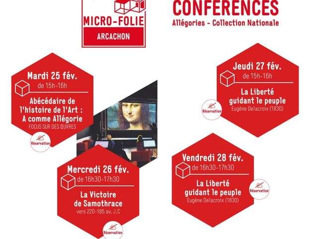 Micro-Folie - Conférences : La Liberté guidant le peuple