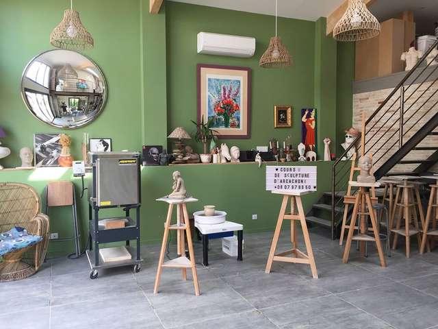Atelier sculpture à l'île aux Artistes