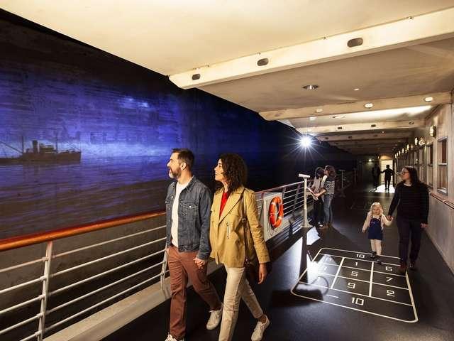 Escal'Atlantic, l'aventure des paquebots, site de visite