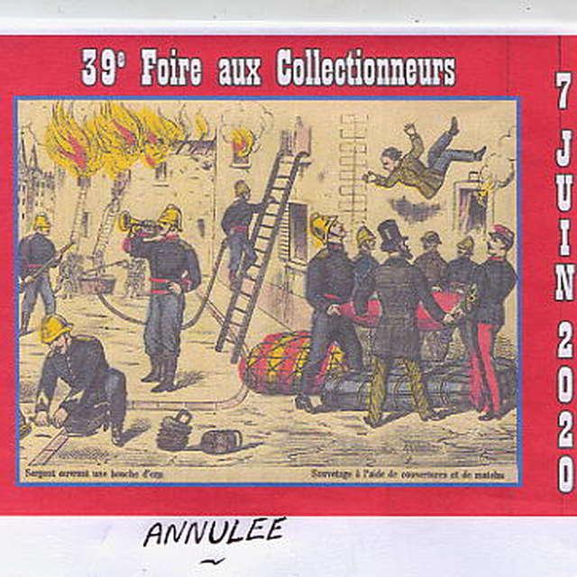 39ÈME FOIRE AUX COLLECTIONNEURS REPORTÉE LE 6 JUIN 2021