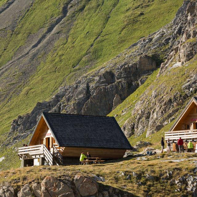 Rencontre au refuge de la Leisse - Parc national de la Vanoise