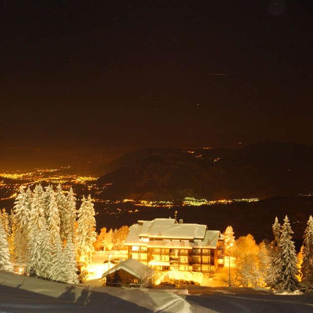 Ski nocturne au Collet
