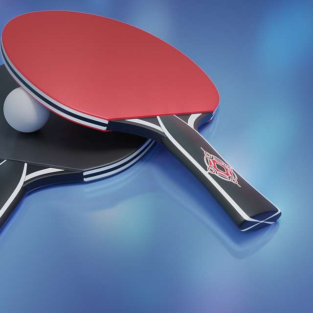 Tennis table tournament