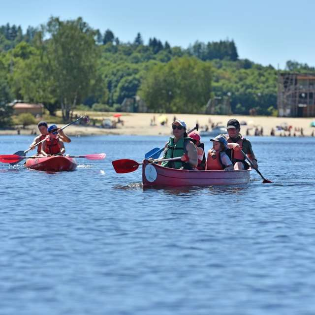 Location canoë, paddle  Broussas