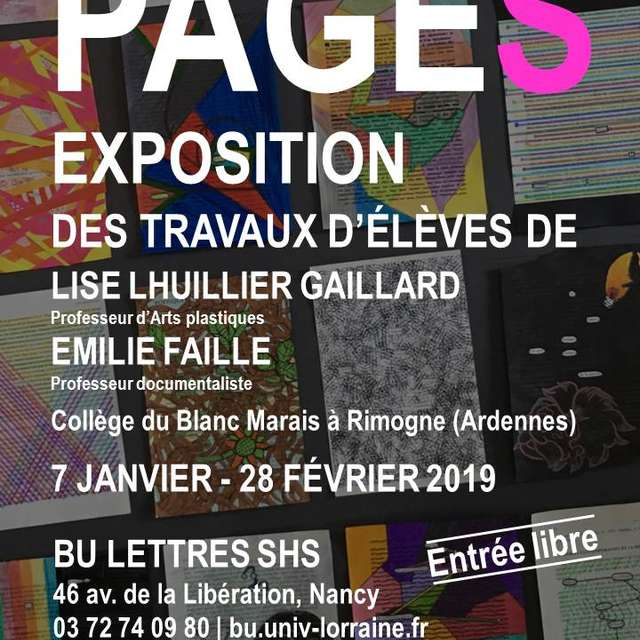 EXPOSITION PAGES