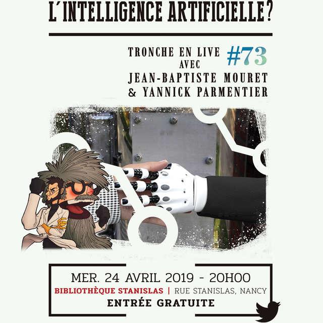 CONFÉRENCE OÙ COMMENCE L'INTELLIGENCE ARTIFICIELLE ?