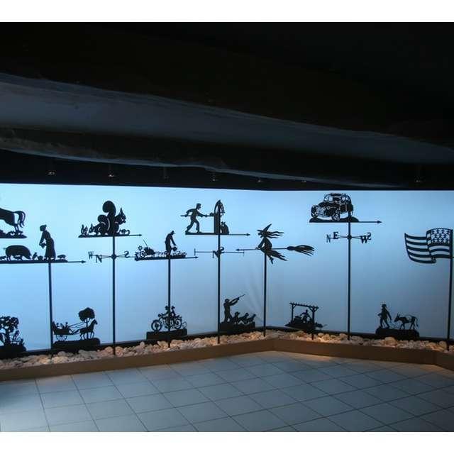 Atelier Jouvenaud - Girouettes, luminaires, décor du jardin