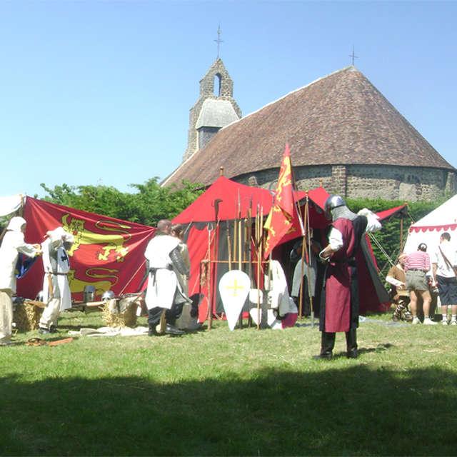 Fête médiévale à la Commanderie d'Arville