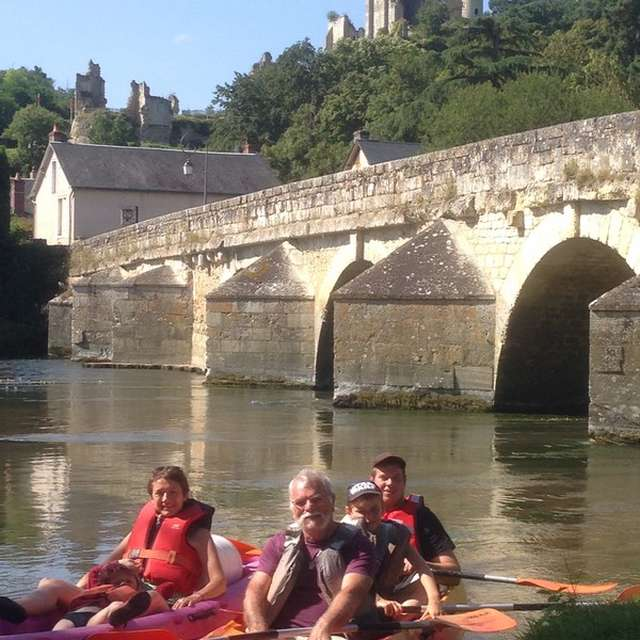Canoë sur le Loir