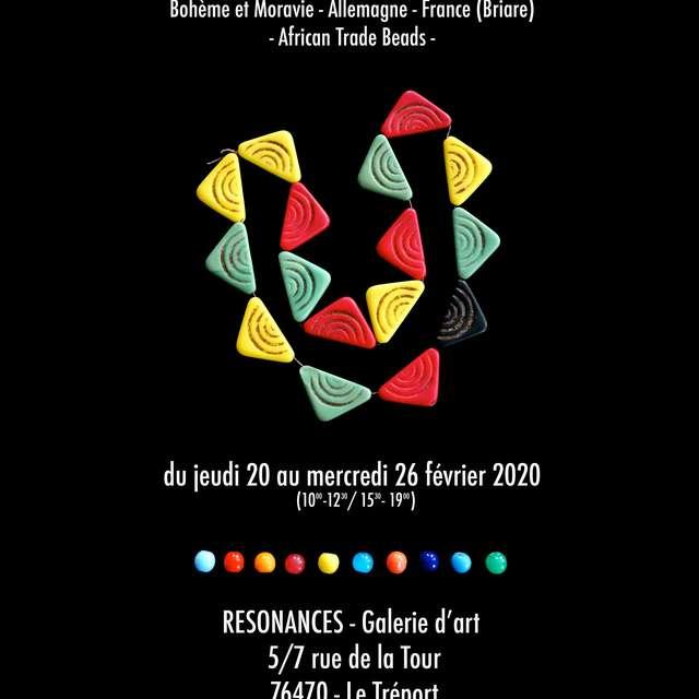 Exposition | Perles de Troc - Bohème de Moravie - Allemagne - France (Briare) African Trade Beads