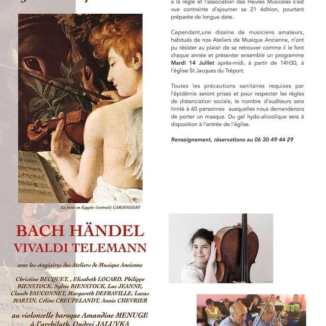 [ANIMATION CONFIRMEE] | Concert Les Heures Musicales de la Vallée de la Bresle