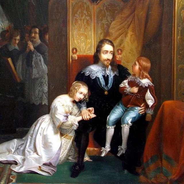 Une heure, Une oeuvre : Les adieux de Charles Ier à ses enfants