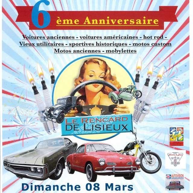 Les rencards de Lisieux, 6ème anniversaire