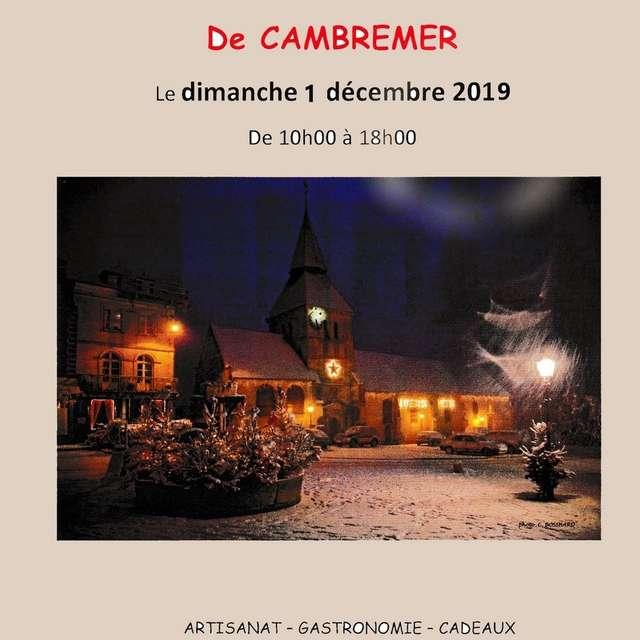 Marché de noël de Cambremer