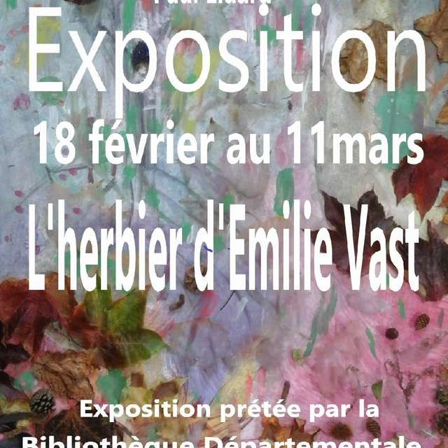 Exposition | l'herbier d'Emilie Vast