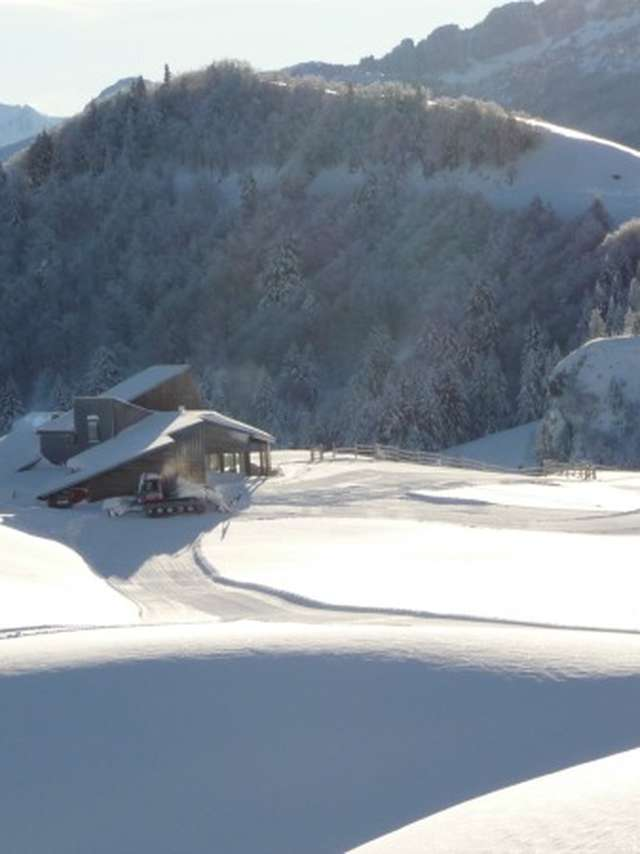 Location de skis-raquettes