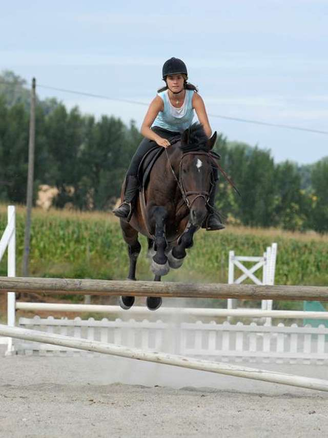 Equitation intense en Quercy 10 à 17 ans