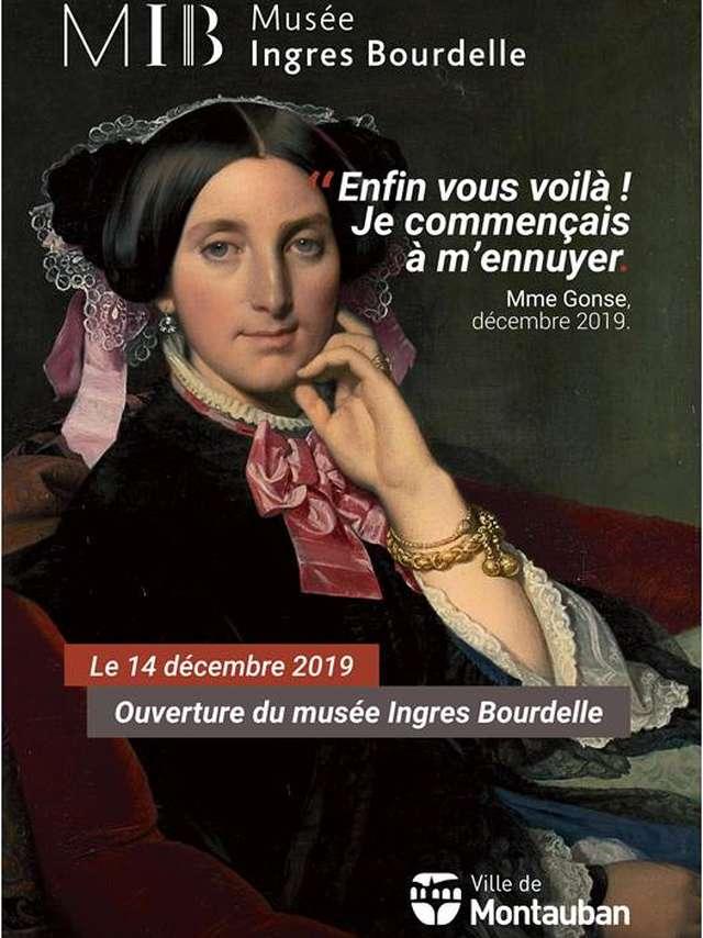 Ouverture du musée Ingres Bourdelle