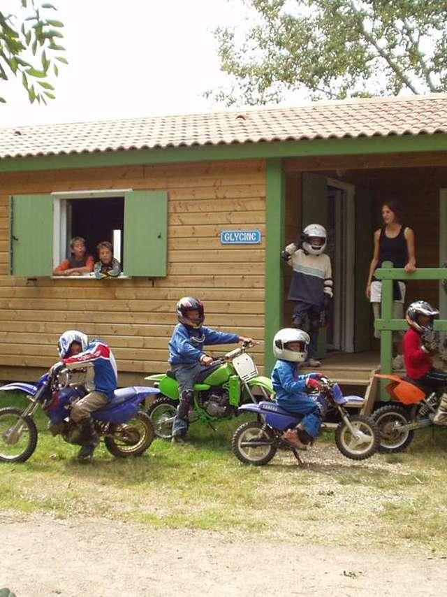 Séjour enfant : Evolution moto 6-16 ans