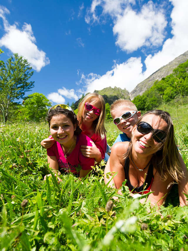 Rando famille itinérante en liberté dans la vallée du Valgaudemar