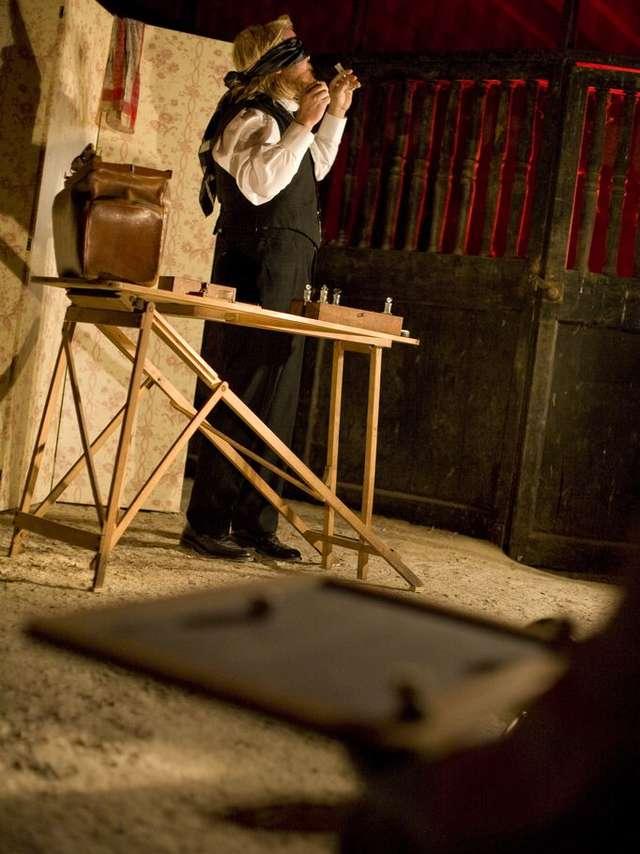 Une séance peu ordinaire - Cie Circo Aerao