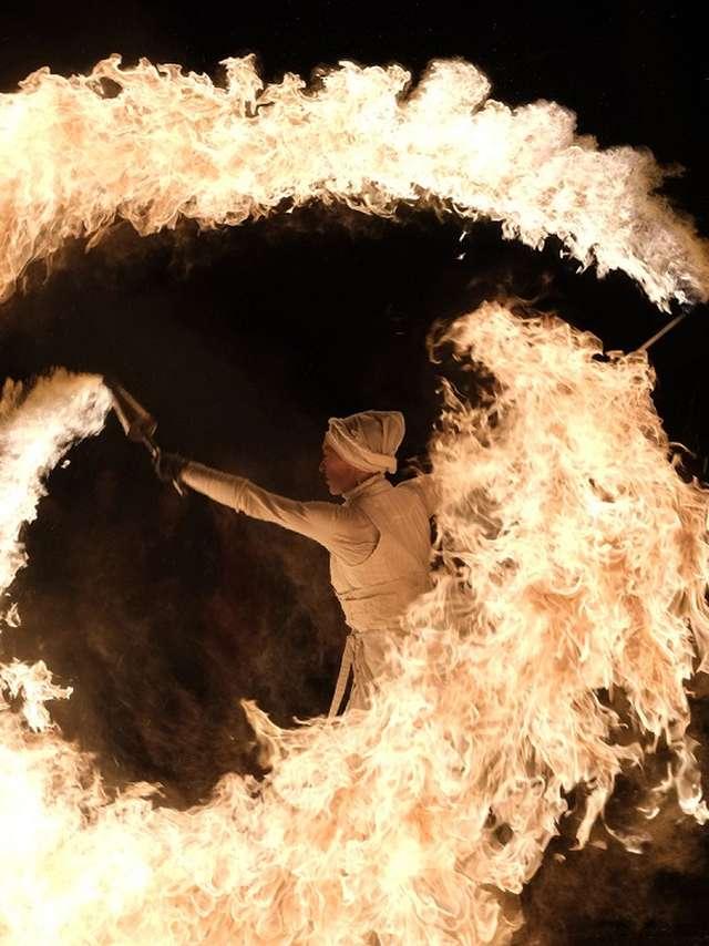 Spectacle de feu : Envol