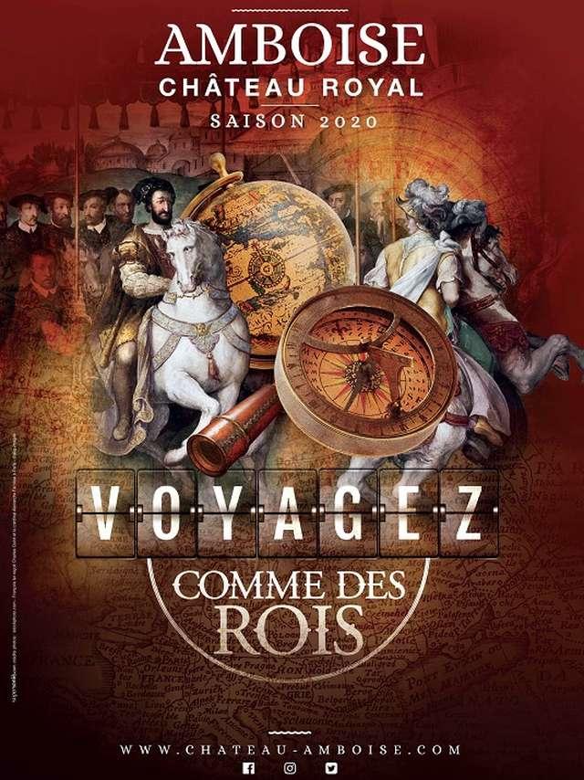 Carnets de voyages au château Royal d'Amboise