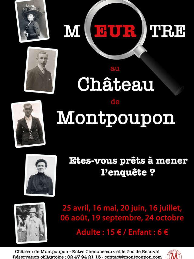 Meurtre au Château de Montpoupon
