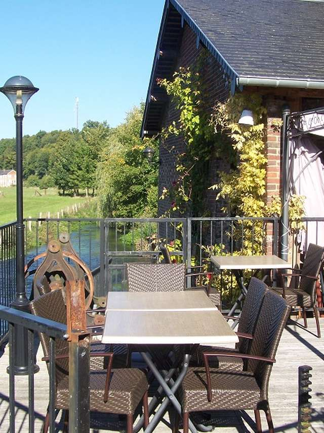 Le Moulin du Fossard - Saint-Martin-de-Bienfaite-La-Cressonnière