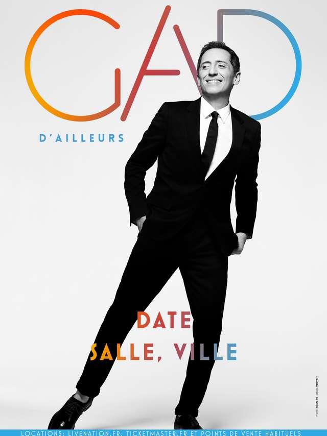 Gad Elmaleh - D'AILLEURS - REPORTE