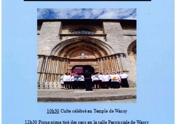 Concert  à l'église