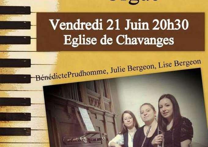 Concert Trompette Flûte et Orgue