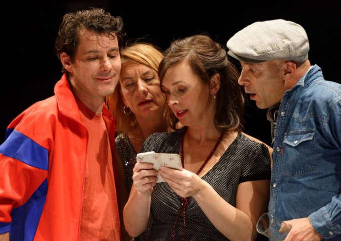 Théâtre d'improvisation : Le Dîner, pièce impromptue / Vit;rit 2x+