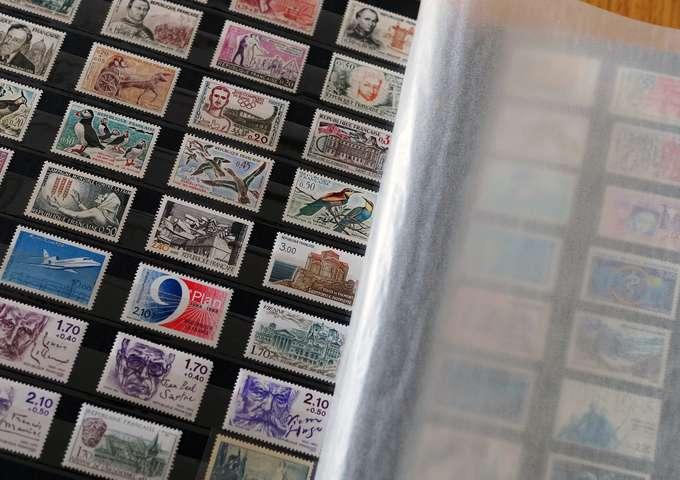 Exposition de timbres