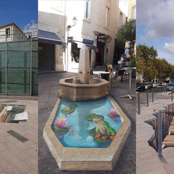 Circuit Anamorphoses dans Béziers