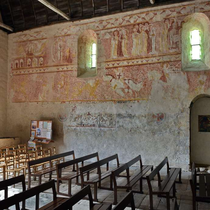 The Church of Notre-Dame (in the Valley of the Frescos)