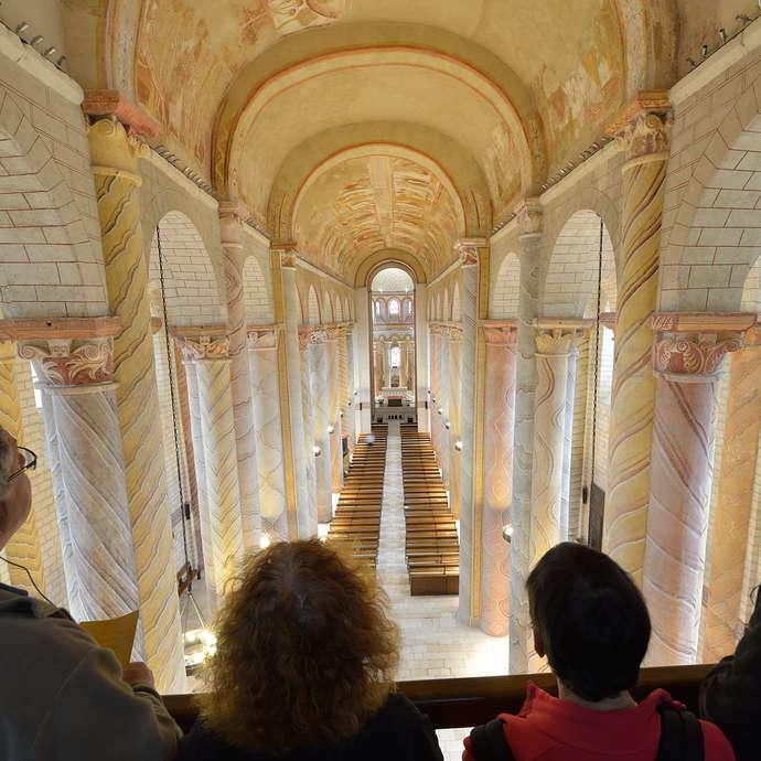 Visite guidée de l'église abbatiale de Saint Savin