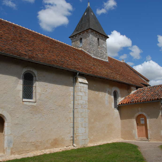 The Church of Saint-Germain (Valley of the Frescos)