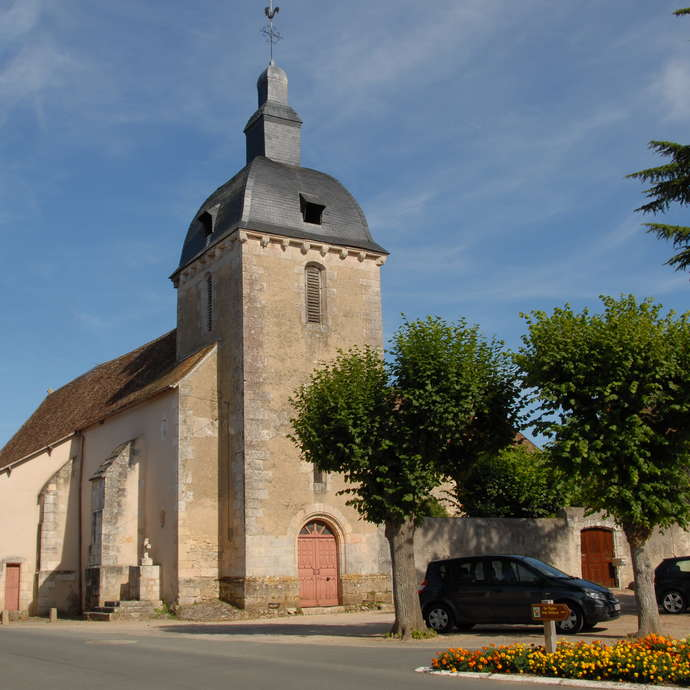 The Church of Saint-Hilaire and the Presbytery