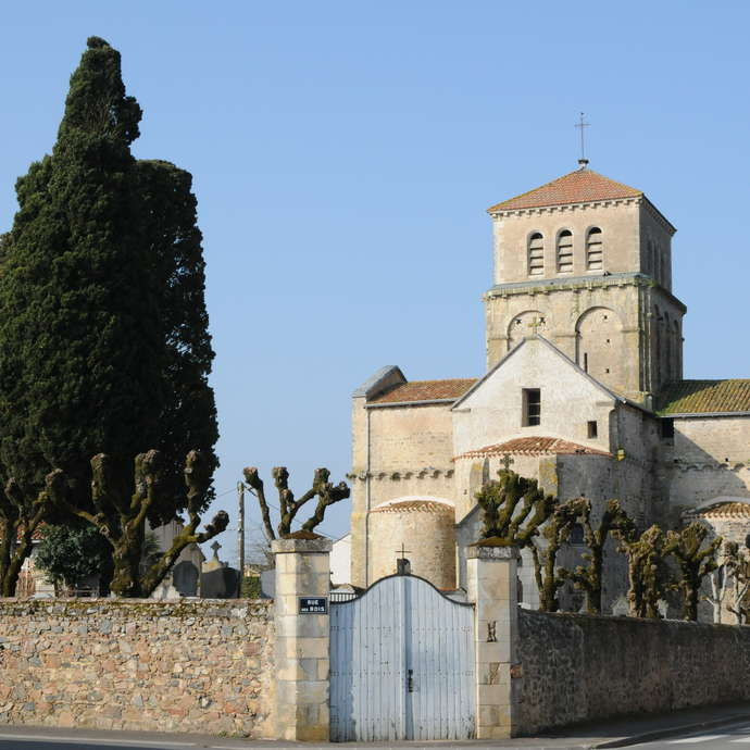 The Church of Saint-Paixent