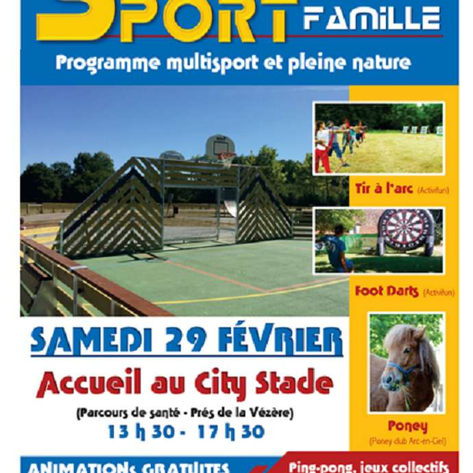 Sport famille