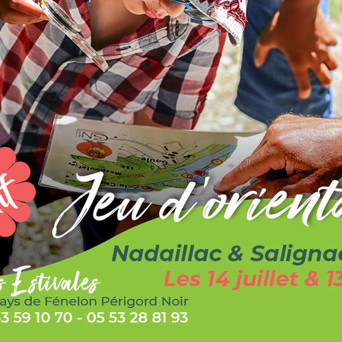 ÉTÉ ACTIF : Jeu d'orientation à Salignac